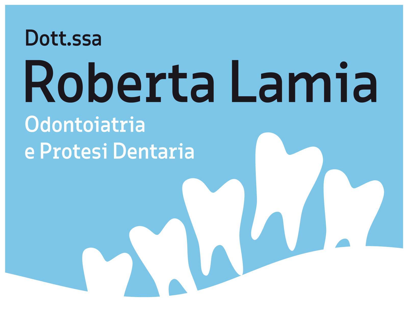 Roberta Lamia Odontoiatra e Protesi Dentaria – Studio Dentistico – Trieste - Biglietto da visita
